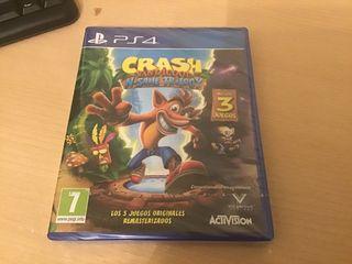 Crash Bandicoot N sane triology (PRECINTADO)