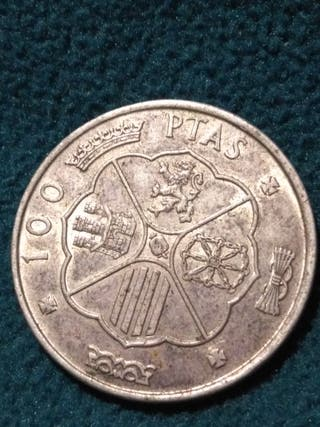 100 pesetas de 1966