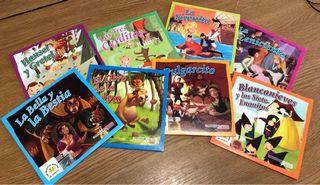 8 cuentos infantiles en cd