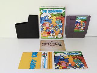 Nintendo NES: Los Pitufos PAL - B (NOE) ¡Completo!