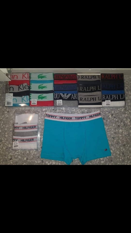 boxer y calcetines de hombre varias tallas