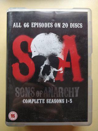 Serie Sons of Anarchy. temporadas 1-5. (Inglés)
