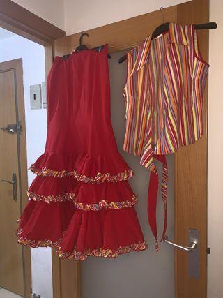 conjunto de sevillana flamenca gitana rociero