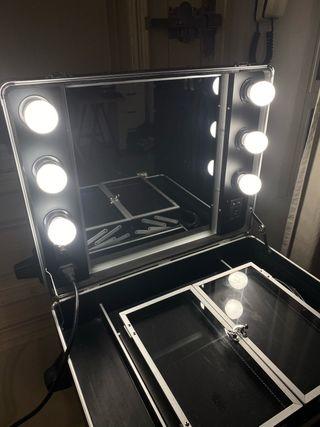 Maletin maquillaje profesional tocador Nyx