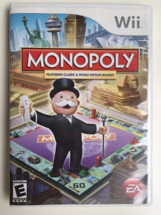 Monopoly wii juego seminuevo