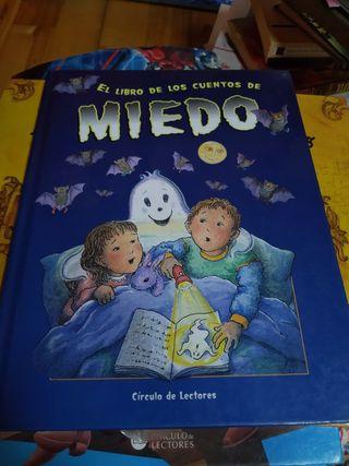 Libro de Cuentos de Miedo, infantil.