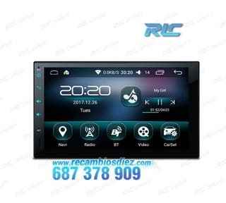 RADIO NAVEGADOR ANDROID 6.0 MARSHMALLOW 2DIN GPS 7