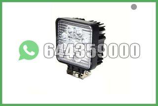 FOCO LED CUADRADO 27W 9 LEDS