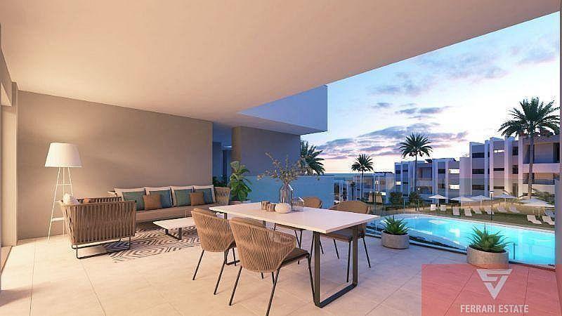 Apartamento en venta en Alcorrín en Manilva (La Chullera, Málaga)