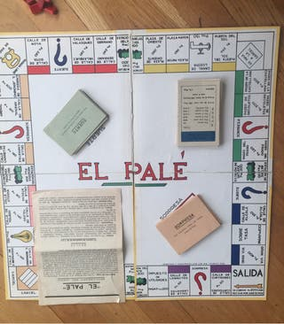 EL PALÉ. JUEGO DE SOCIEDAD. Monopoly 1940/50