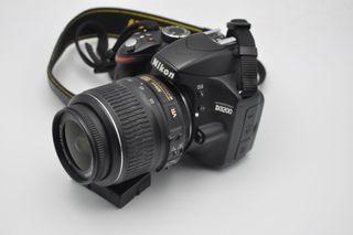 Nikon D3200 24MP obj 18-55 DX VR, solo tiene 13300