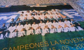 pañuelo real Madrid 2002