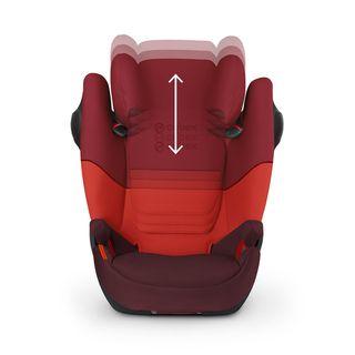 silla coche grupo 2/3 Cybex Solution X Gris NUEVA