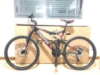 """Moma bike bicicleta montaña HIT 26"""" Shimano NOVA"""