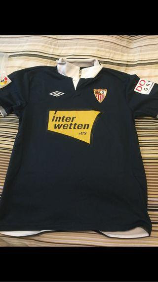 Camiseta Match Worn Sevilla Fernando navarro