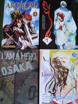 Pack 15 tomos: I's, Claymore, Japón, Miyu... Uno:5