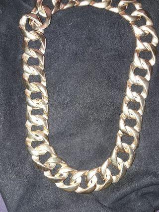 Collar Bañado oro 18K