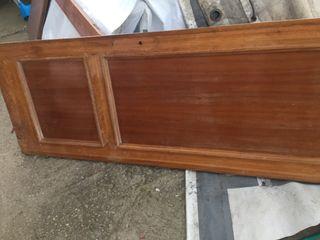 Puerta sapelly de 62 y 71 cm x 189