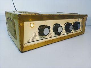 Amplificador a válvulas vintage