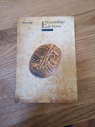 libro el Escarabajo de Horus