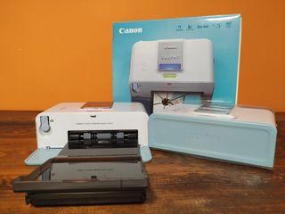 2 impresoras de foto canon selphy cp510