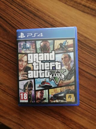 Juego PS4 Grand theft auto V