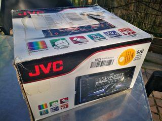 Radio Cd doble Din JVC