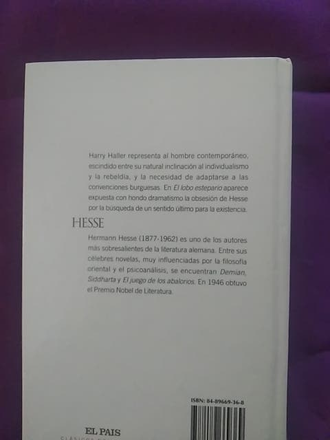 Lobo estepario. Hermann Hesse