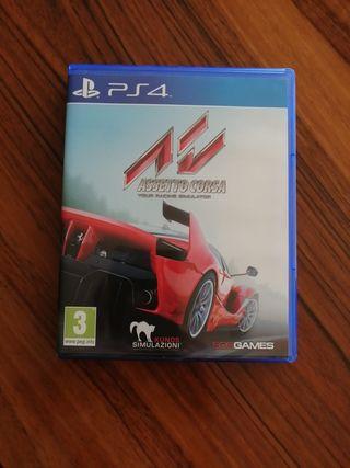 Juego PS4 Assetto Corsa