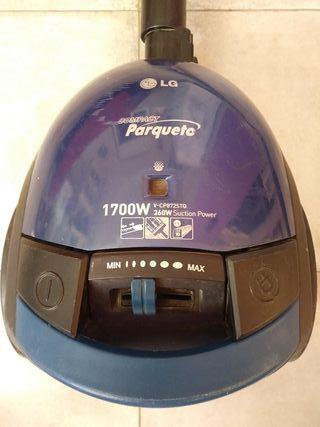 aspiradora LG 1700w Compact parqueto