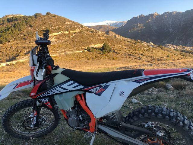 KTM 450 EXC-F SIX Days Chile. 2019