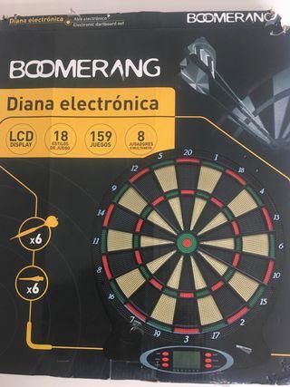 Diana electrónica de dardos