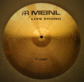 Batería, Plato Meinl Live Sound Crash 16