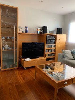 Conjunto muebles salón moderno