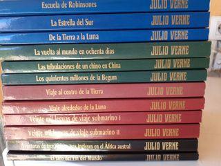 12 libros de Julio Verne