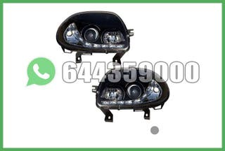FAROS LED NEGROS RENAULT CLIO 98-01