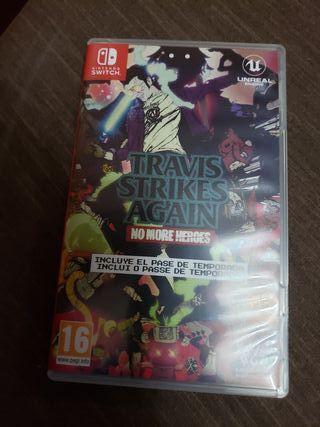 Travis Strikes Again Nintendo switch