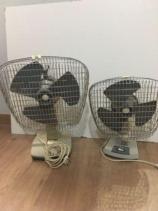 Ventiladores antiguos Taurus funciona