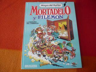 MORTADELO Y FILEMON MAGOS DEL HUMOR 10 LA MAQUINA