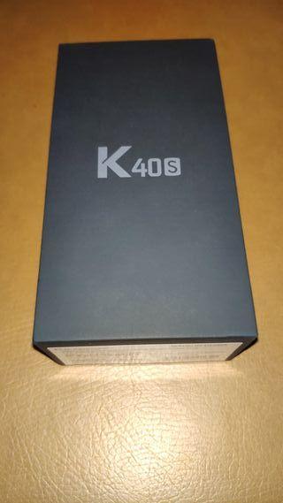 Móvil LG K40 S, azul