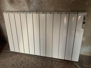 Cinco radiadores eléctrico de bajo consumo