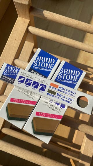 Piedra japonesa para afilar cuchillo