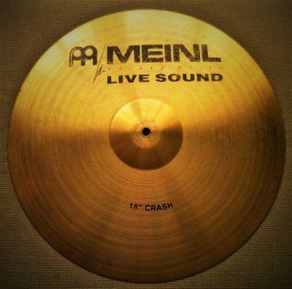 Batería, Plato Meinl Live Sound Crash 18