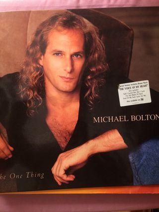 Disco de vinilo Michael Bolton