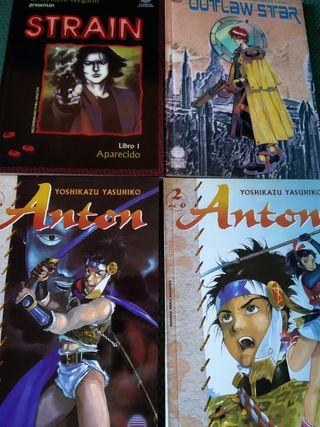 Pack 6 tomos manga variados (Strain, Anton...)
