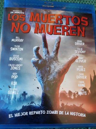Película de zombies Los muertos no mueren Blu-ray