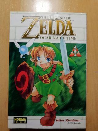 3 mangas de Zelda