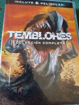 Estuche 6 películas Temblores, en DVD