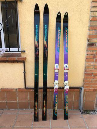 Esquís Dynastar y Rosignol