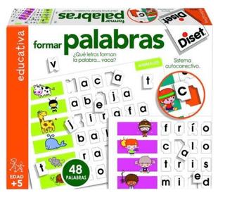 2 Juegos Diset Multiplicar y formar palabras